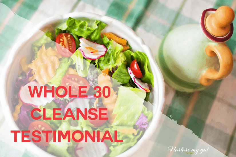 Whole 30 cleanse testimonial