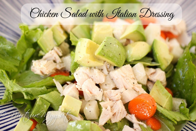 chicken salad with italian dressing