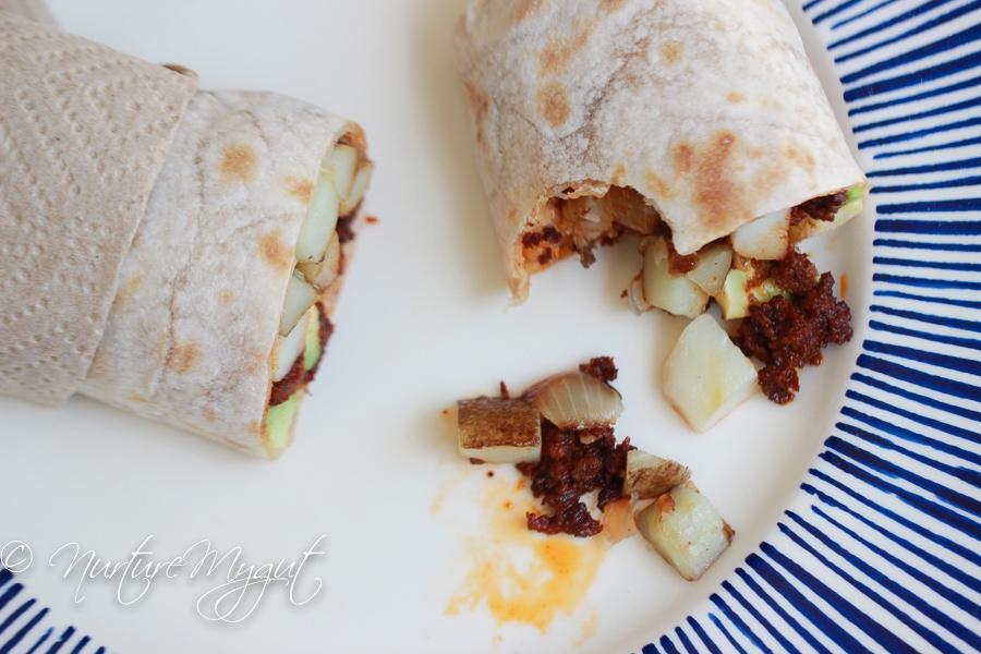 Paleo Breakfast Burrito-12