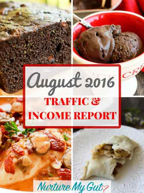 August 2016 Traffic and Income Report