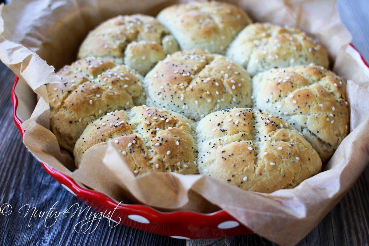 Flakey Paleo Biscuits