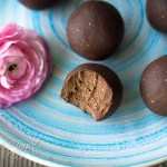 No-Bake Dark Chocolate Strawberry Energy Bites