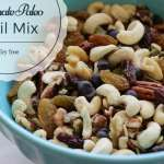 Trail mix with vegan chocolate chips