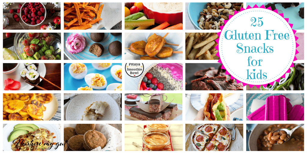 25 Healthy Gluten Free Snacks for Kids