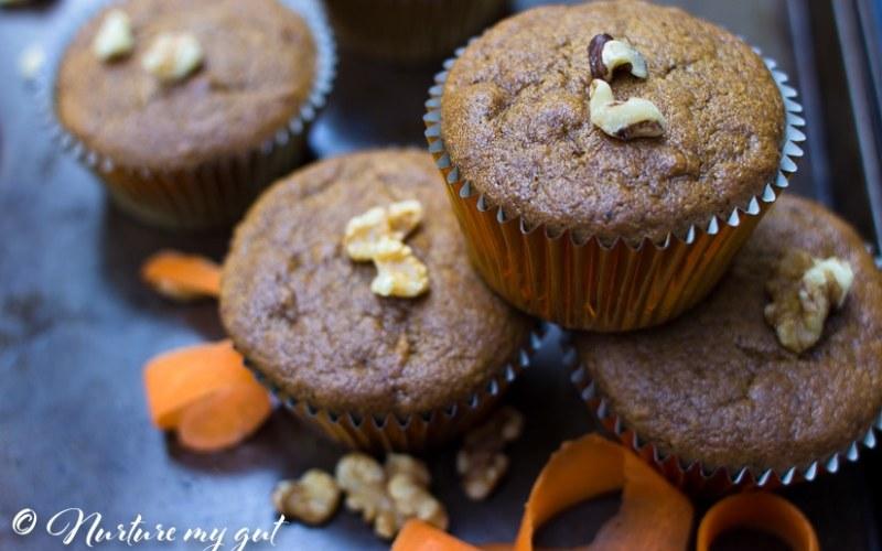 Best Paleo Carrot Muffins