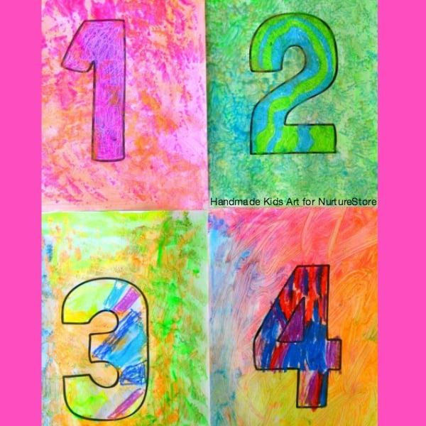 Jasper Johns Numbers A STEAM Activity For Kids NurtureStore