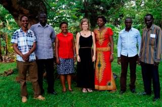 Der neue Nurturing - Uganda - Vorstand