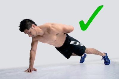 Single-arm Plank Exercise