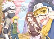 Tim Minato (Kakashi, Rin, Obito & Minato)