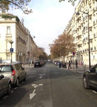 rapi dan Teratur jalan di Kota Paris