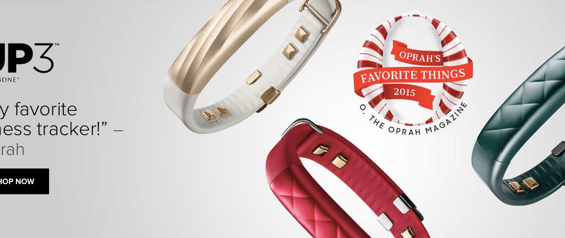 Jawbone UP3 Tracker Favorite Oprah
