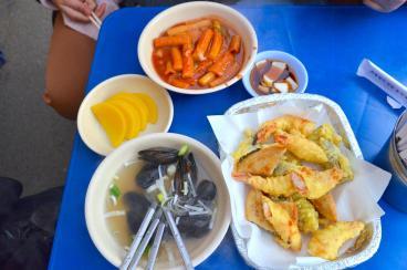 street korean food