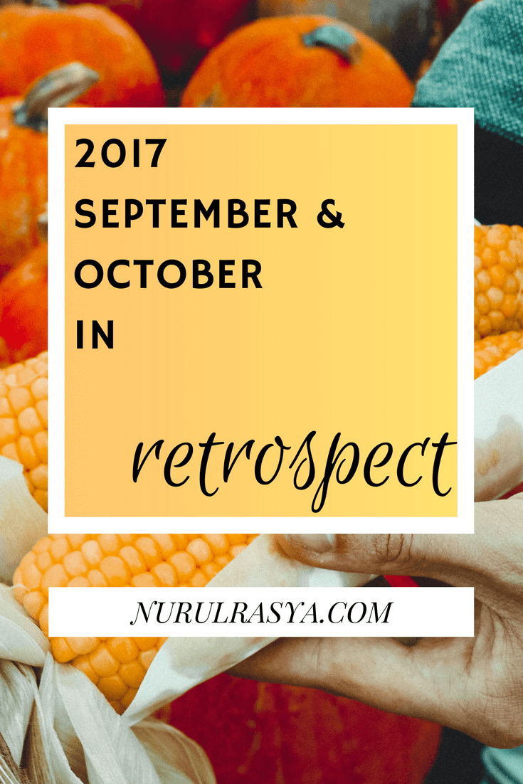 september and october in retrospect