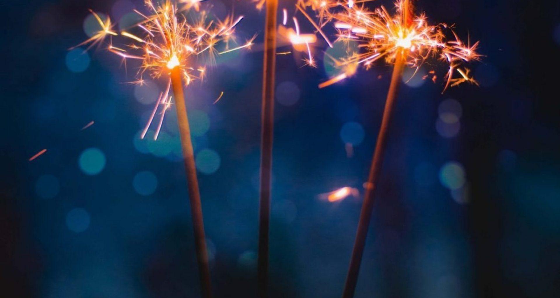 Fireworks In Dark