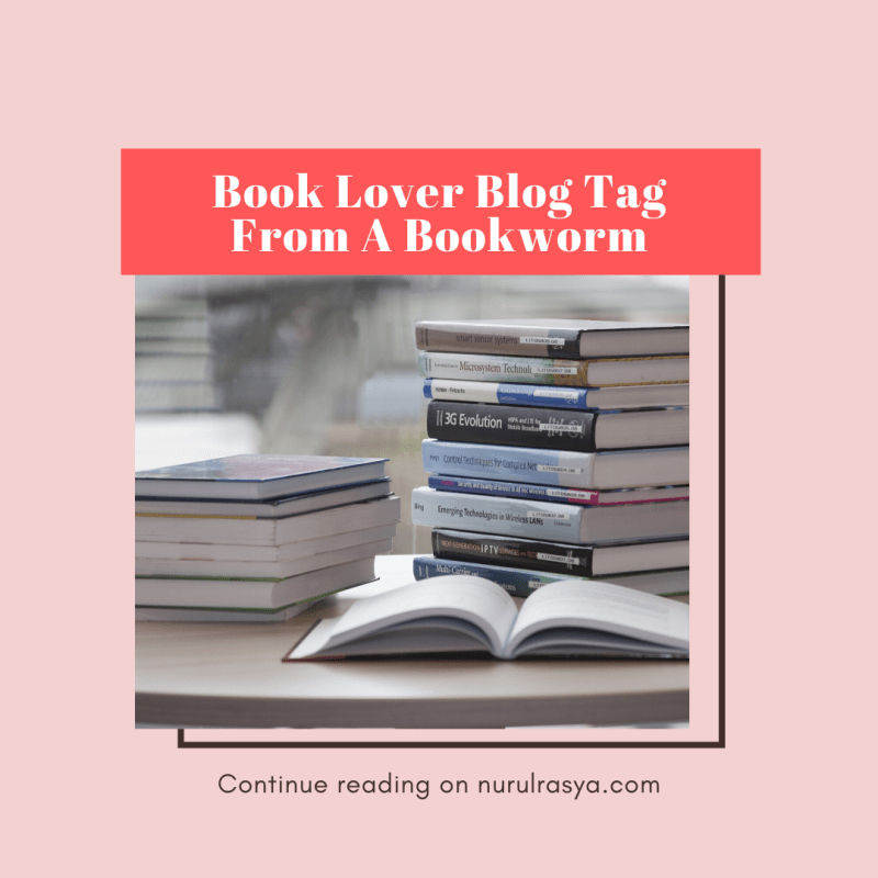 Book Lover Blog Tag