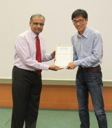 Outstanding Young Researcher Award: Postdoctoral Fellow - Dr. Qiu Guanglei, National University of Singapore