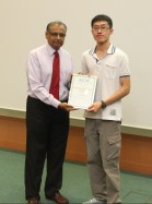 Outstanding Graduate Student Researcher Award - Feng Guangxue, National University of Singapore