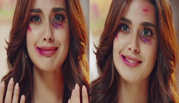 Iqra Aziz as Nimra in Jhooti