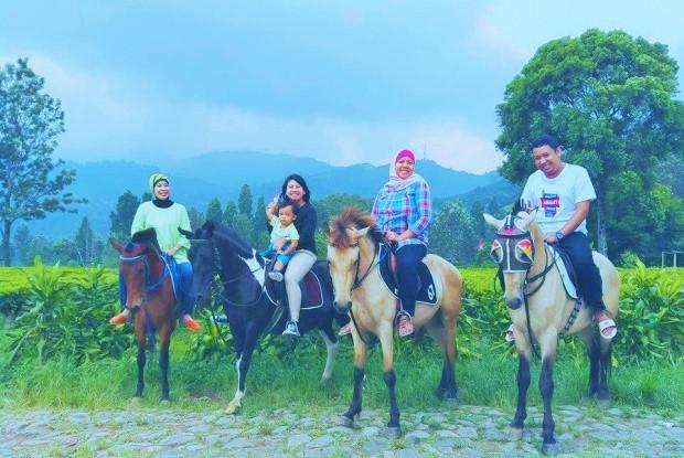 Ilustrasi Berkuda - Wisata Keluarga di Agrowisata Gunung Mas, Puncak/Nunsataranews/Foto: ubermoom