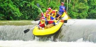 Wisata Arung Jeram Sungai Ciberang/ Ilustrasi wisata nusantaranews /Foto dok. bantenwisata
