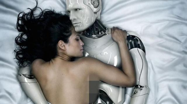 Ilustasi: Hubungan seks manusia dan robot