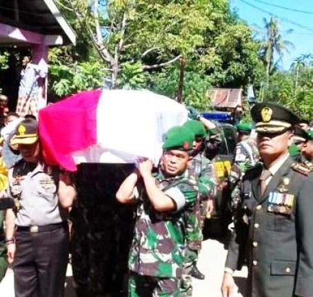 Pemakaman Serda Ilman
