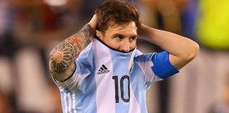 Lionel Messi/Getty