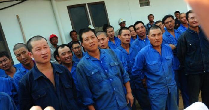 Tenaga kerja China/Foto Istimewa