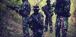 Operasi Satuan Tugas Tinombala di Poso/Foto Nusantaranews via binpers