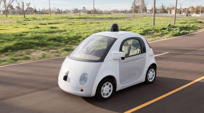 (Ilustrasi Mobil tanpa Sopir) Mobil Otonomos Google/Reuters