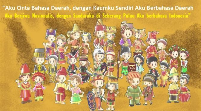 Jangan Biarkan Bahasa Daerah Terus Alami Kepunahan/Ilustrasi nusantaranews via bintang.com