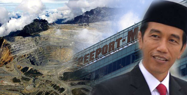 Jokowi dan Freeport/Foto ilustrasi/Nusantaranews