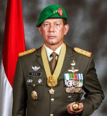 Mayjen TNI Doni Munardo
