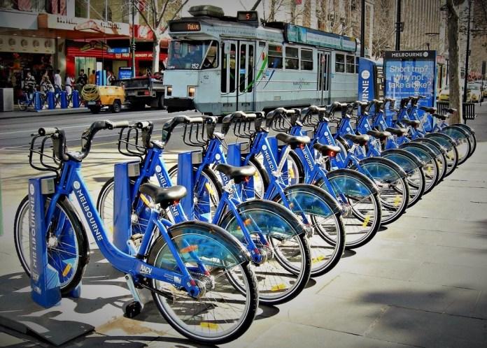 Melbourne Bike Share/Foto nusantaranews via australiantransplantgames