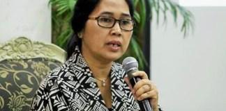 Wakil koordinator Kaukus Pancasila Eva Sundari/Foto nusantaranews via satuharapan