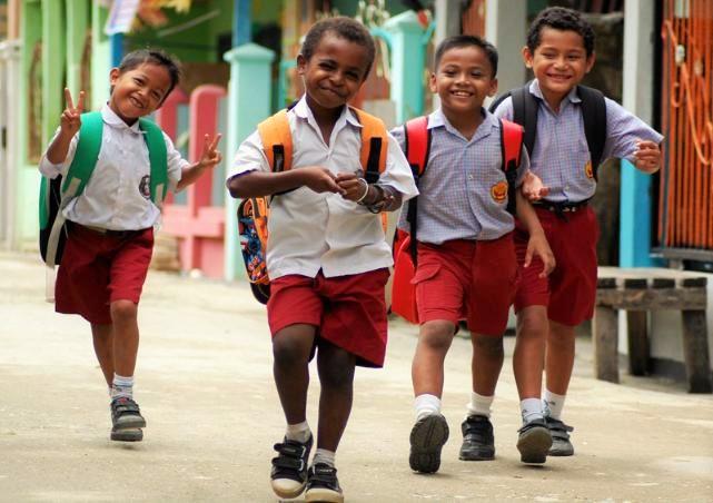 Foto Ilustrasi/Anak sekolah/IST