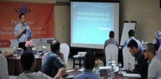 pelatihan panduan media untuk pemberitaan pemilu akses di Jakarta/Foto istimewa