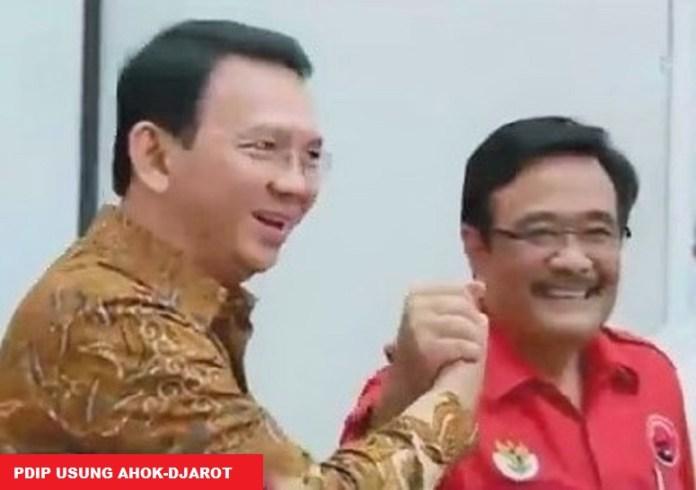 PDIP Resmi Usung Ahok-Djarot di Pilkada DKI 2017/Foto via KompasTV
