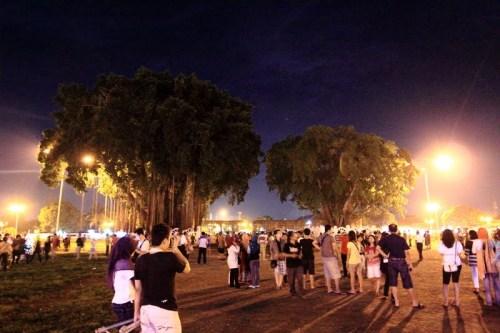 Wajah Alun-alun Kidul di malam hari/Foto istimewa
