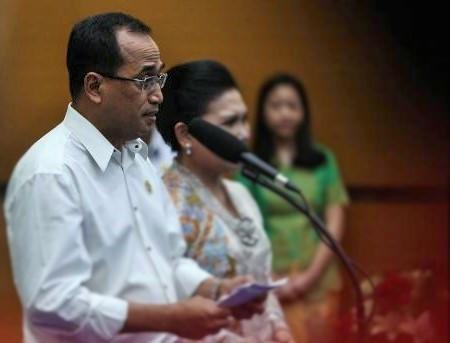 Menteri Perhubungan Budi Karya Sumadi/Foto nusantaranews via liputan6