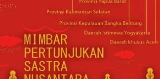 Mimbar Pertunjukan Sastra Nusantara/Ilustrasi Istimewa