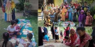 Suasana di Rumah Baca Tirai Ilmu/Ilustrasi foto nusantaranews via RBTI