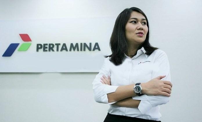 VP Corporate Communication Pertamina Wianda Puponegoro/Foto: KlikBontang