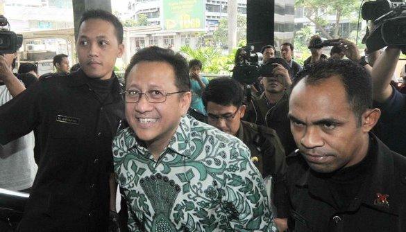 Irman Gusman saat mendatangi KPK/Foto via merdeka