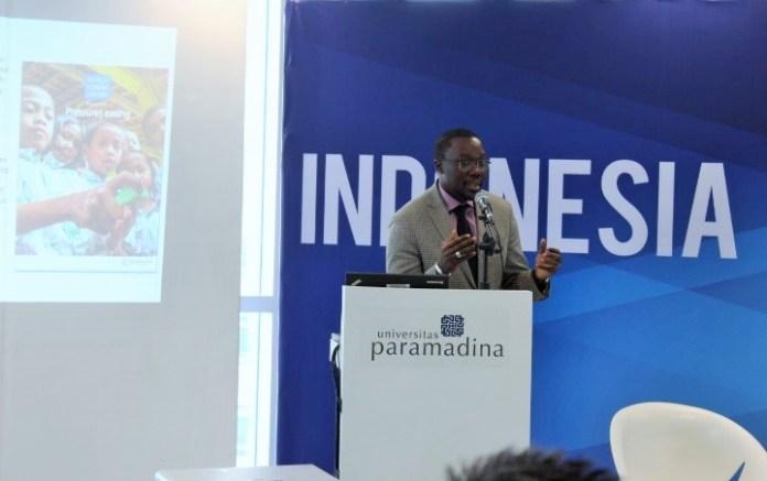 Practice Manager Bank Dunia untuk Makro Ekonomi dan Manajemen Fiskal di kawasan Asia Tenggara dan Pasifik untuk Indonesia Ndiame Diop/Foto Andika / Nusantaranews