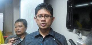 Wakil Ketua KPK, Laode M Syarief disela diskusi publik bertema 'Mencari Sosok Pimpinan PPATK', di Jakarta, Kamis, (6/10)/Foto Fadilah/Nusantaranews