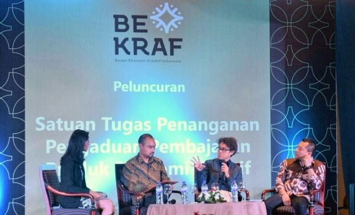 Bekraf Bentuk Satgas Anti Pembajakan/Foto Andika / Nusantaranews