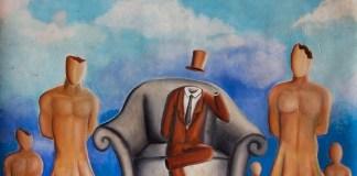Negara tanpa Kepala Negara - Lukisan Bismar Siagian