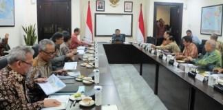 Rapat Program Pembangunan Pariwisata Indonesia di Kantor Wapres RI, Jakarta/Foto Dok. Humas Kementrian Pekerjaan Umum