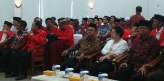 Tampak Megawati hadir dalam Pelatihan Mubaligh Baitul Muslimin. Foto Andika/Nusantaranews